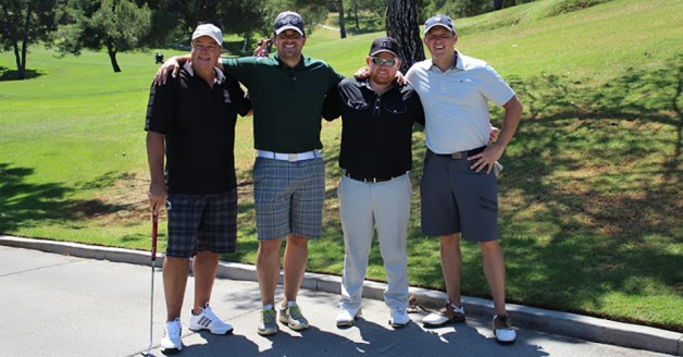 Over $10,000 was raised for the Los Angeles Jr. Kings' Financial Assistance Program - $1,000 of which was donated to the Twin Peaks Breast Cancer Foundation - at the organization's third annual golf tournament and dinner, which was showcased last month at Mountain Gate Country Club in Los Angeles.