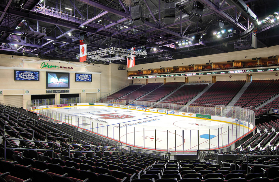 The Orleans Arena will be the temporary home for the AHL's Henderson Silver Knights.