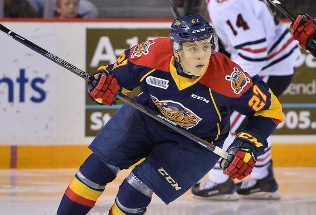 Ivan Lodnia of the Erie Otters. Photo by Terry Wilson / OHL Images.