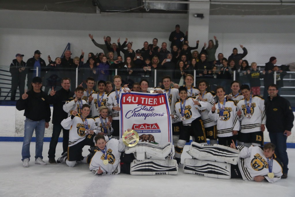 Golden Bears 14UU AA state champs