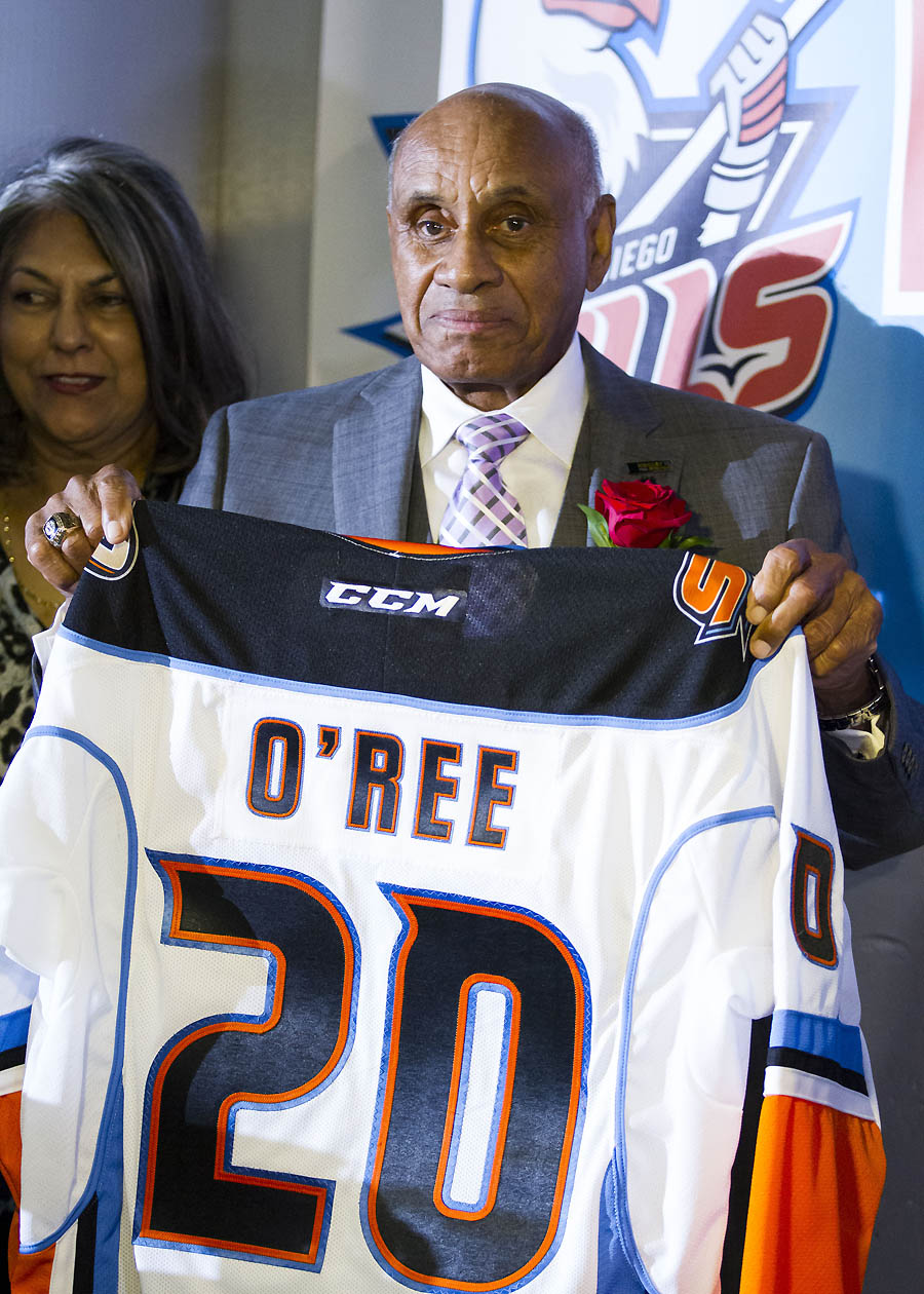 San Diego hockey icon O Ree s pioneering legacy now includes Hockey ... 2a32aa732