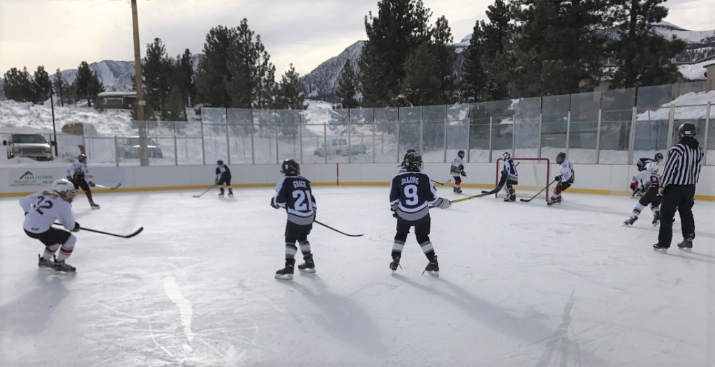 2018 12U Game in Mammoth CA