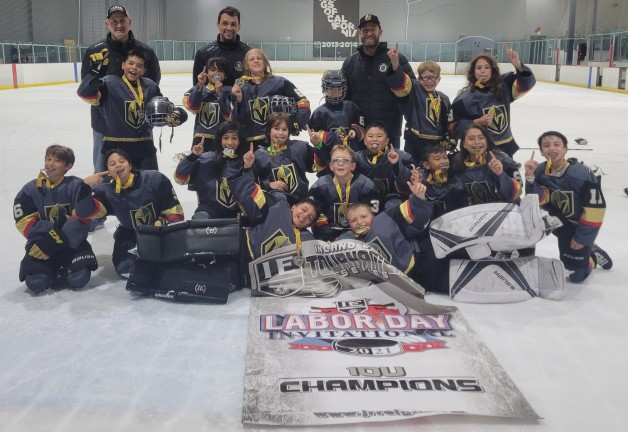Golden knights Champs